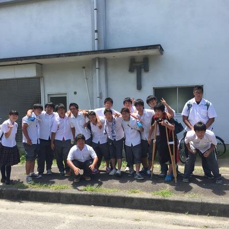 20150726瀬戸市民大会   愛知県立守山高等学校ラグビー部 BLUE APES